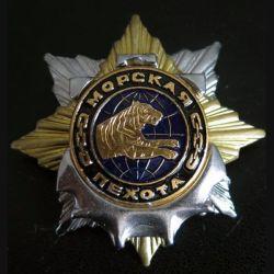 RUSSIE : insigne de la 55° division de l'infanterie navale