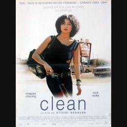 """AFFICHE FILM : affiche de cinéma du film """"Les mains vides"""" 2004 dimension 40 x 56 cm (E003)"""