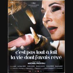 """AFFICHE FILM : affiche de cinéma du film """"C'est pas tout à fait la vie dont j'avais rêvé"""" 2006 dimension 40 x 53 cm (E003)"""