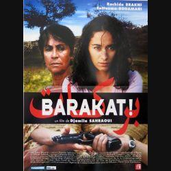 """AFFICHE FILM : affiche de cinéma du film """"Barakat"""" 2006 dimension 40 x 53 cm (E003)"""