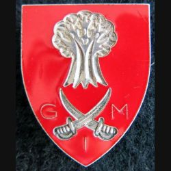 INCONNU : insigne G I M ou G M I (Afrique ?)