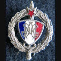 ACFM : insigne des anciens combattants de la fédération Maginot de fabrication le Médailler Paris