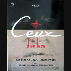 """AFFICHE FILM : affiche de cinéma du film """"Ceux d'en face"""" 2001 dimension 40 x 54 cm (E004)"""