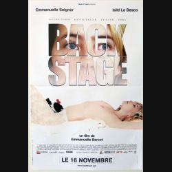 """AFFICHE FILM : affiche de cinéma du film """"Bakestage"""" 2005 dimension 40 x 60 cm (E005)"""