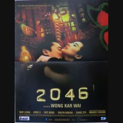 """AFFICHE FILM : affiche de cinéma du film """"2046"""" de 2004 dimension 40 x 54 cm (E005)"""