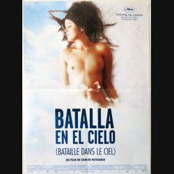 """AFFICHE FILM : affiche de cinéma du film """"Batalla en el cielo"""" de 2005 dimension 40 x 54,5 cm (E006)"""