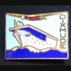 DIXMUDE : pin's du porte avions Dixmude en émail fabrication Annonier Toulon