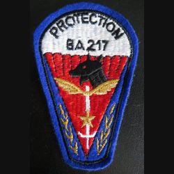 BA 217 : Insigne tissu de la protection de la base aérienne 217 de  l'armée de l'air