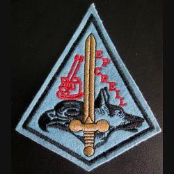 BA 110 : Insigne tissu de l'escadron de protection de la base aérienne 110 de Creil