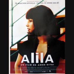 """AFFICHE FILM : affiche de cinéma du film """"Alila"""" de 2003 dimension 40 x 54,5 cm (E006)"""