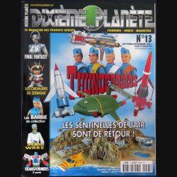 dixième planète : revue L 9432 N° 13 octobre novembre 2001 (N1)