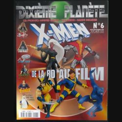 dixième planète : revue L 9432 N° 6 août septembre 2000 (N1)