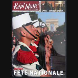 Revue du képi Blanc n° 702 de août septembre 2008 dossier fête nationale (N1)