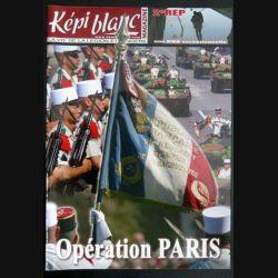 Revue du képi Blanc n° 713 de Août Septembre 2009 Opération Paris (N1)