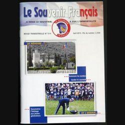 Le Souvenir Français N° 514 : bulletin Avril 2019  (N1)