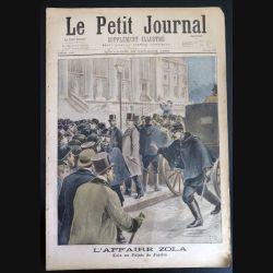 Le petit journal supplément illustré N° 379 du dimanche 20 février1898 (C179)