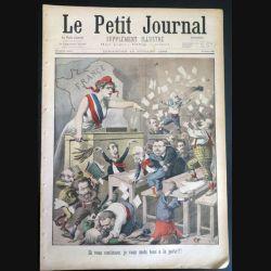 Le petit journal supplément illustré N° 399 du dimanche 10 Juillet 1898 (C179)