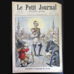 Le petit journal supplément illustré N° 416 du dimanche 10 Novembre 1898 (C179)