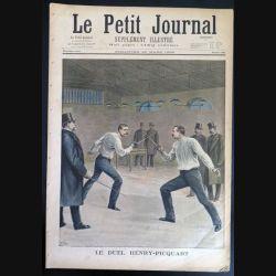 Le petit journal supplément illustré N° 383 du dimanche 20 Mars 1898 (C179)