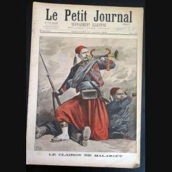 Le petit journal supplément illustré N° 384 du dimanche 27 Mars 1898 (C179)