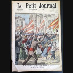 Le petit journal supplément illustré N° 391 du dimanche 15 Mai 1898 (C179)