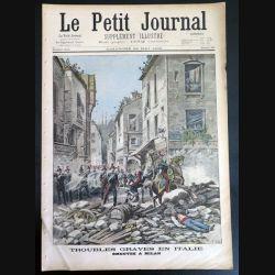 Le petit journal supplément illustré N° 392 du dimanche 22 Mai 1898 (C179)