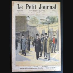 Le petit journal supplément illustré N° 394 du dimanche 5 Juin 1898 (C179)
