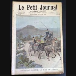 Le petit journal supplément illustré N° 382 du dimanche 13 Mars 1898 (C179)
