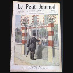Le petit journal supplément illustré N° 403 du dimanche 7 Août 1898 (C179)