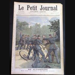 Le petit journal supplément illustré N° 404 du dimanche 14 Août 1898 (C179)