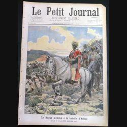 Le petit journal supplément illustré N° 406 du dimanche 28 Août 1898 (C179)