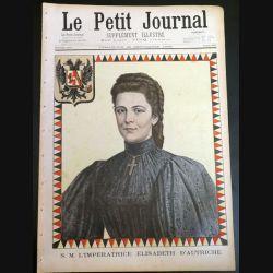Le petit journal supplément illustré N° 410 du dimanche 25 Septembre 1898 (C179)