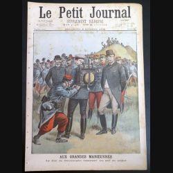 Le petit journal supplément illustré N° 411 du dimanche 2 Octobre 1898 (C179)