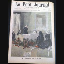 Le petit journal supplément illustré N° 413 du dimanche 16 Octobre 1898 (C179)