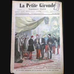 La Petite Gironde supplément illustré N° 38 du dimanche 30 Octobre 1898 (C179)