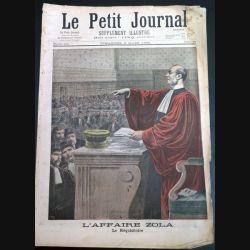 Le petit journal supplément illustré N° 381 du dimanche 6 Mars 1898 (C179)