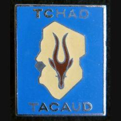 TACAUD : insigne métallique de l'opération Tacaud au Tchad en 1978 Drago