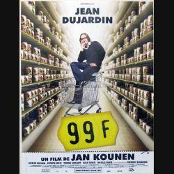 """AFFICHE FILM : affiche de cinéma du film """"99 francs"""" de 2007 dimension 40 x 53 cm (E010)"""