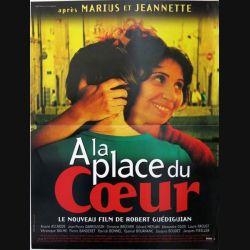 """AFFICHE FILM : affiche de cinéma du film """"A la place du coeur"""" 1998 dimension 40 x 54 cm (E010)"""