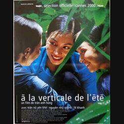 """AFFICHE FILM : affiche de cinéma du film """"A la verticale de l'été"""" 2000 dimension 40 x 53 cm (E010)"""