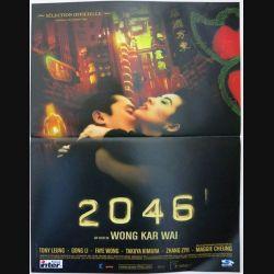 """AFFICHE FILM : affiche de cinéma du film """"2046"""" 2004 dimension 40 x 54 cm (E010)"""