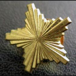étoile de galon yougoslave de dimension 1,8 cm