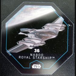 Carte star wars n° 36 Naboo Royal starship