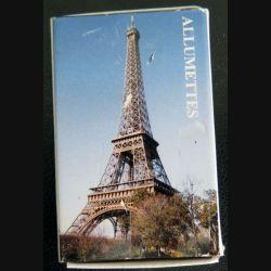 BOITE D'ALLUMETTES : Arc de triomphe et tour Eiffel matches