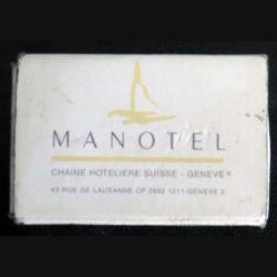 BOITE D'ALLUMETTES : MANOTEL Geneve