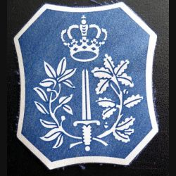 insigne tissé du servicve des narcotic dog handler belges