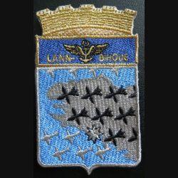 BAN : Insigne tissu de la base aéronautique navale de Lann-Bihoué