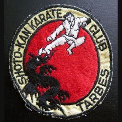 Insigne patch écusson tissu du Shoto Kan karaté club de Tarbes