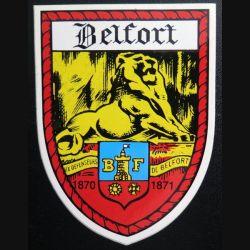 Autocollant de Belfort