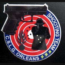 Autocollant de la Shooting Team du CSLG Orléans